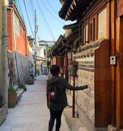 bukchon hanok backview