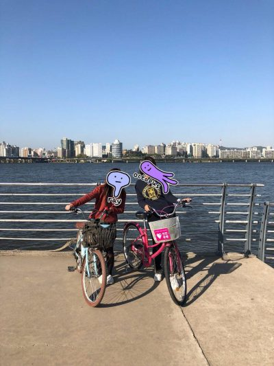 han river cycling