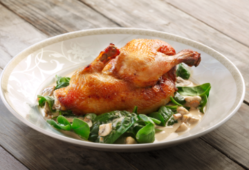 Poulet-amazing French roast chicken