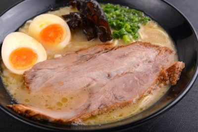 Tonkotsu Ramen With Flavoured Egg(3)