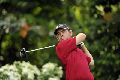 SINGAPORE - Louis Oosthuizen of South Africa pictured during a Pro-Am event November 7, 2012, at Sentosa Golf Club, Serapong Course ahead of the Barclays Singapore Open. The USD $6 million event, co-sanctioned by the European and Asian Tours, is staged November 8-11, 2012. Picture by Paul Lakatos/World Sport Group.